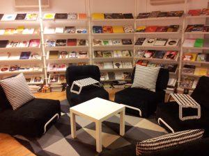 decoración oficinas biblioteca Ikea Madrid