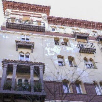Reforma, diseño y decoración piso Chamberí edificio Mozárabe